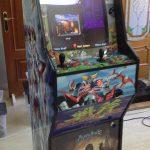 Máquina arcade vinilos variados… para Madrid